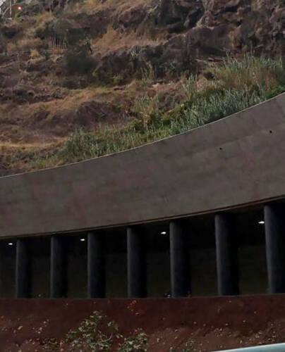 Túnel Rodoviário a céu aberto, João Abel de Freitas