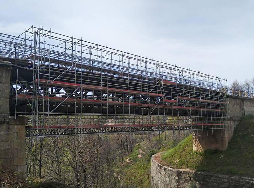 Ponte das Silveiras<br>Requalificação da Linha da Beira. Troço Covilhã – Guarda